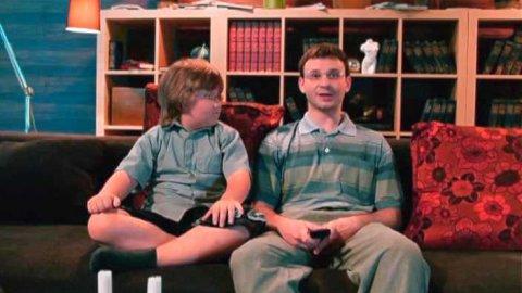 Два отца и два сына 1 сезон 2 серия, кадр 6